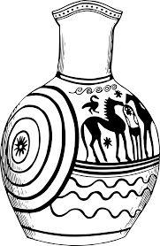 ancient greek vase template ile ilgili görsel sonucu