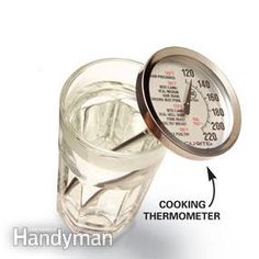 Be safe—keep the dial at 120 degrees F
