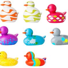 Mrs. T has a giant collection of ducks for the children to occupy themselves while in the office. Come on in and check them out.