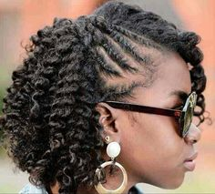 75 Most Inspiring Natural Hairstyles for Short Hair - Hair Style Cabello Afro Natural, Pelo Natural, Natural Hair Tips, Natural Curls, Twist On Natural Hair, Coiling Natural Hair, Natural Hair Braids, Natural Twists, Cute Hairstyles