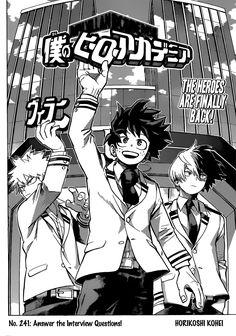 Leggere Boku no Hero Academia 241 Online Gratis in Inglese: Answer! The Interviews - page 3 - Manga Eden Boku No Hero Academia, My Hero Academia Manga, Manhwa, Manga English, Bakugou Manga, Interview, Manga Covers, Manga Pages, Palawan