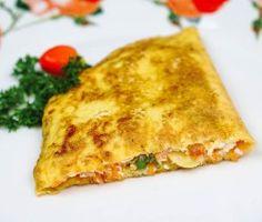 Omelete de legumes light