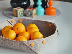 DIY Anleitung: Filzschale mit Druckknöpfen // diy tutorial: How to craft a felt bowl with kam snaps via DaWanda.com
