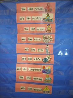 place highlighting cellophane in front of sight word