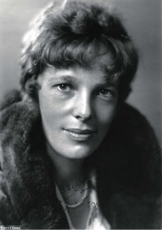 The world's most famous female aviator  disappeared in 1937, as she  attempted to become the first woman to fly around the world. With her  navigator, Fred Noonan, her Lockheed Electra was last heard from about  100 miles from the tiny Pacific atoll, Howland Island, on July 2, 1937.  President Roosevelt authorized an immediate search; no trace was ever  found.