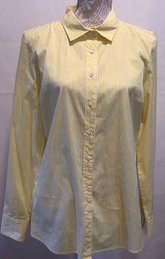 ef2ac518e7870 Career Regular Size Striped Button Down Shirts for Women