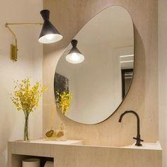 Bathroom Inspiration, Interior Inspiration, Bathroom Interior Design, Interior Decorating, Bathroom Mirror Design, Modern Bathroom, Dream Decor, Apartment Interior, Interior Architecture