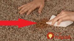 Najjednoduchší spôsob, ako vyčistiť koberec!