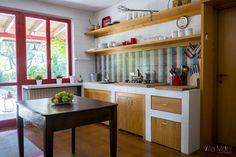The kitchen. La cucina della casa