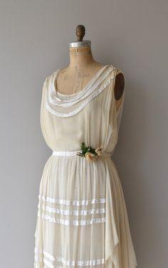 Lydian Schatz Kleid 1920er Jahre Vintage Kleid von DearGolden