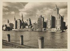 Samuel Gottscho, 'Manhattan Skyline with Chrysler Building', 1920s-30s