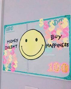 Cute Canvas Paintings, Diy Canvas Art, College Canvas Paintings, Small Canvas Art, Photo Wall Collage, Collage Art, Picture Wall, Money And Happiness, Idee Diy