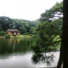 浜離宮恩賜庭園 in 中央区, 東京都 Hama Detached Palace Gardens (Teahouse)