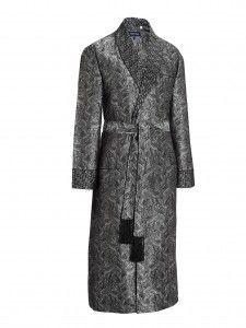 Verona 12 Black Dressing Gown