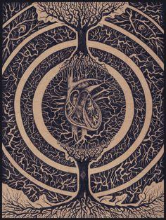 An arboricolous heart