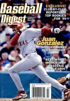 Sports Magazine Covers: Juan Gonzalez