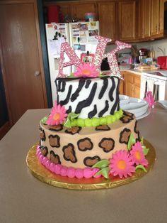 Birthday Cake for my favorite twin girls :)