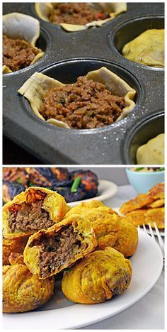 Jamaican Beef Patty – I don't care for Jamaica (my least favorite pla… Jamaican Beef Patty – I don't care for Jamaica (my least favorite place I have ever visited) too much but these are delicious! Jamaican Cuisine, Jamaican Dishes, Jamaican Recipes, Beef Recipes, Cooking Recipes, Jamaican Appetizers, Authentic Jamaican Cabbage Recipe, Jamaican Meat Pies, Cooking Tips