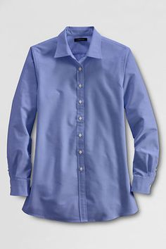 Maternity Oxford shirt from Land's End! I wish it came in white...