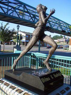 Wilma Rudolph 1940-1994 Clarksville, TN - Howard Brown