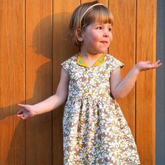 The Lotta dress (children) pdf pattern