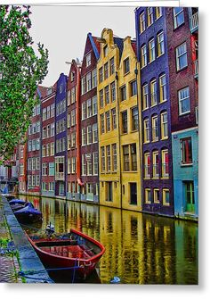 Amsterdam, Netherlands - This is a must visit place for everyone. Amsterdam is amazing and I'm so thankful for being able to travel to places like this! Places Around The World, The Places Youll Go, Travel Around The World, Places To See, Around The Worlds, Dream Vacations, Vacation Spots, Vacation List, Wonderful Places