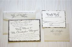 Invitation and RSVP card etiquette