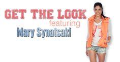 Get the Look ft. Mary Synatsaki!