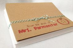 g*rated: Printable Teacher Card Set...need to make some of these