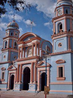 Iglesia Chiquinquirá de Lobatera Táchira, Venezuela