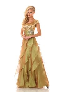 1f95681225 i really like this dress its got not to much bling but just right. Modest