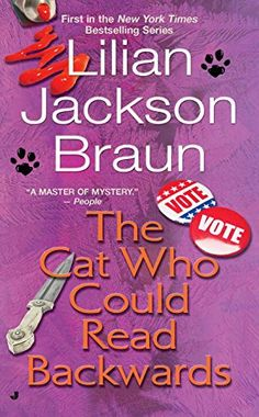 c70f71bf6f5 The Cat Who Could Read Backwards by Lilian Jackson Braun http   www.