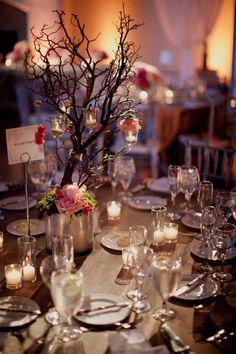Romantic Formal California Wedding from Ethan Yang - wedding centerpiece idea