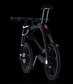 Urban Collapsible Bicycle, futuristic bike, Jochen Laveno Mangesldorff