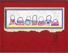 red hat - purse card
