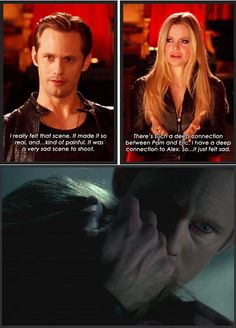 The saddest and best acted scene all season. True Blood season 6 - Eric Northman releases Pam!