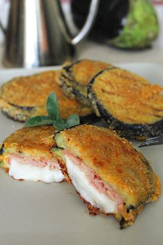cordon-bleu-de-berenjenas - Fırın yemekleri - Las recetas más prácticas y fáciles Chicken Salad Recipes, Veggie Recipes, Low Carb Recipes, Vegetarian Recipes, Cooking Recipes, Healthy Recipes, Fall Cookie Recipes, Easy Eat, Cordon Bleu