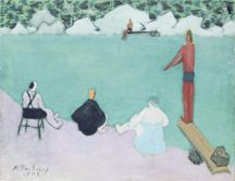 Bathers by River Milton Avery