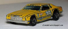 Mein Blog über Modellautos: Hot Wheels Chevrolet Monte Carlo 1977 Flying Colors 7660