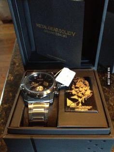 Metal gear solid watch