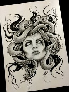 Great idea for a tattoo Spanish tattoos Tattoos for women . - Great idea for a tattoo Spanish tattoos Tattoos for women did … - Sketch Tattoo Design, Tattoo Sketches, Sketch Design, Tattoo Drawings, Body Art Tattoos, New Tattoos, Sleeve Tattoos, Cool Tattoos, Medusa Tattoo Design
