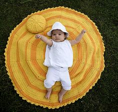 Sunshine of Your Love Blanket and Pillow Set (US and UK crochet versions available) by Marie Segares (Underground Crafter) Baby Blanket Crochet, Crochet Baby, Free Crochet, Crocheted Blankets, Baby Blankets, Easy Crochet, Crochet Abbreviations, Basic Crochet Stitches, Double Crochet