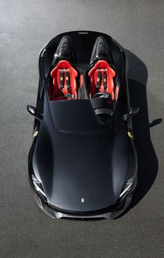Earlier today, we got a peek at the Ferrari Monza and concept cars, but now official details and images have been released, and they look tearfully incredible. Supercars, Van 4x4, Automobile, New Ferrari, Ferrari Racing, Performance Cars, Expensive Cars, Amazing Cars, Awesome