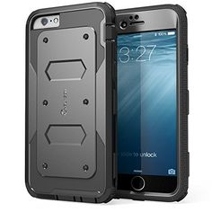 iPhone 6 Case, [Heave Duty] **Slim Protection** i-Blason Apple iPhone 6 Case 4.7 inch Armorbox [Dual Layer] Hybrid Full-body Protective Case with Front Cover and Built-in Screen Protector / Impact Resistant Bumpers Cover for iPhone 6 (Black) i-Blason http://www.amazon.com/dp/B00M0QW2RG/ref=cm_sw_r_pi_dp_XeLsub10RCX20
