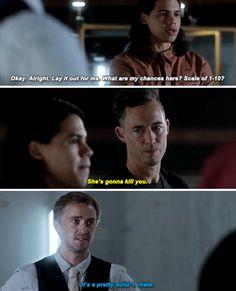 """She's gonna kill you"" - HR, Julian and Cisco #TheFlash"