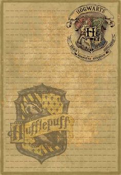 Hufflepuff Stationery by Sinome-Rae on DeviantArt : Title says it all really. Harry Potter Parts, Deco Harry Potter, Harry Potter Classroom, Harry Potter Wizard, Harry Potter Birthday, Harry Potter Memes, Agenda Harry Potter, Harry Potter Planner, Harry Potter Printables