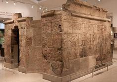 Kiosk of Nesi (Pharaoh) Taharka, 25th Dynasty, Neo New Kingdom. Taken from Karnak Temple. British Museum