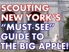 Every week, I receive a number of emails asking what I'd recommend covering on a visit to NYC – not the obscure, quirky, and out of the way stuff that I tend to write about, but rather, my favorite major attractions and sights. Well, here it is, for tourists and locals alike, I present you with the long overdue…