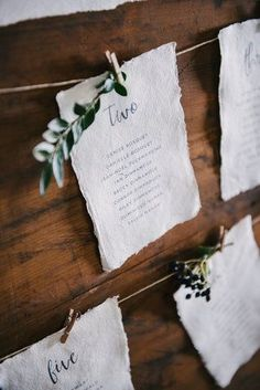 Rustic wedding inspiration. Unique seating plan by Print for Love. Created using vintage type and locally foraged greenery. Lancashire wedding photography.