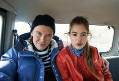 Lacoste L!VE 2013-2014 Fall Winter Ad Campaign - Live in Iceland - Unconventional Talents - Hulda Vigdisardottir and Gudmundur Ingi Ulfarsson: Designer Denim Jeans Fashion: Season Collections, Runways, Lookbooks and Linesheets